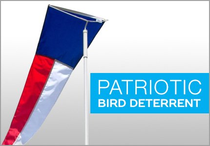 Patriotic Bird Deterrent