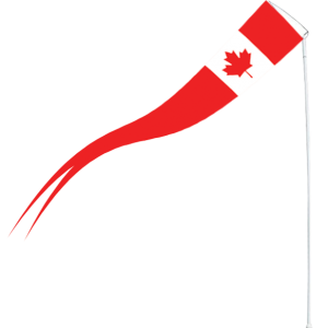 Maple Leaf | Pennant | 8 Foot