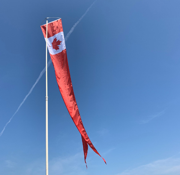 Maple Leaf_ Dori Pole setting _outdoors